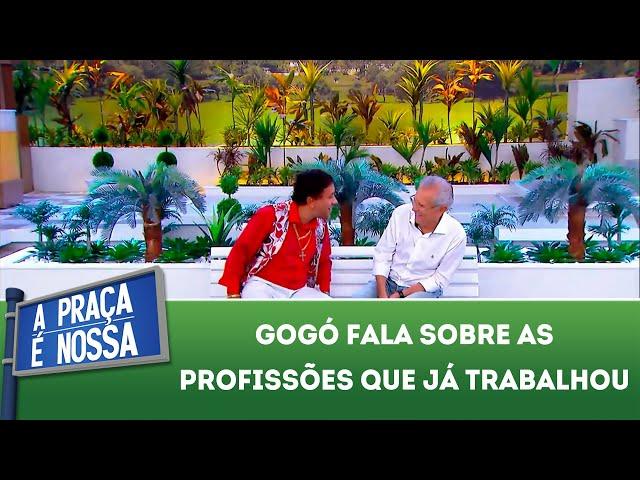 Gogó fala sobre as profissões que já trabalhou | A Praça É Nossa (07/03/19)