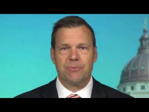 Kris Kobach talks goals of new voter fraud commission