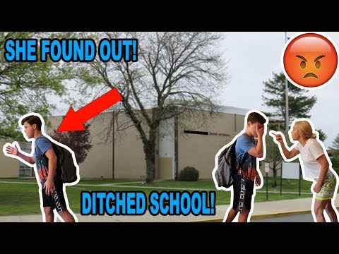 SKIPPING THE FIRST DAY OF SCHOOL! *CAUGHT*