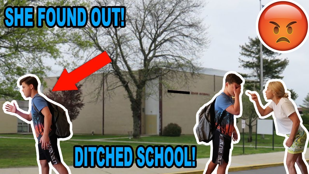 Skipping The First Day Of School Caught