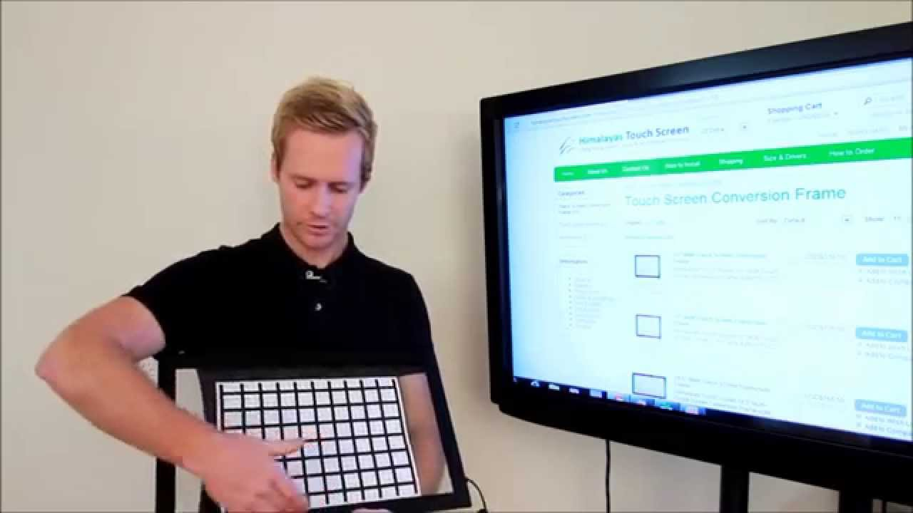 Cheap and easy way to convert any TV into touch screen ...