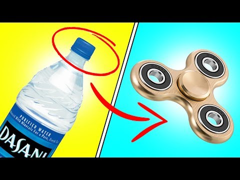 DIY | Fidget Spinner - HOW TO MAKE A FIDGET SPINNER WITHOUT BEARINGS!!! EASY FIDGET SPINNER DIY!!!
