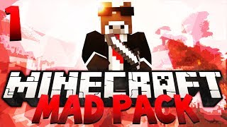 Minecraft MAD PACK Modded Survival - Ep. 1 - No Chance To Survive (Mod Pack Let