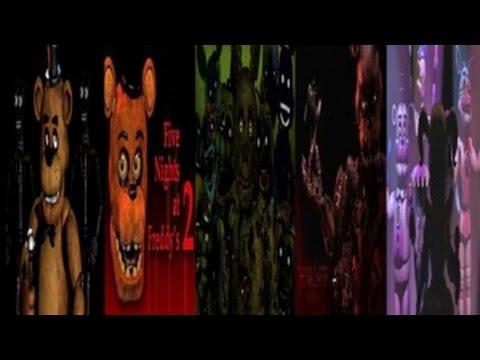FNaF Simulator (ALL FNAF 1-5 SL Animatronics & Jumpscares!)