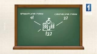 Снова в школу(В новом учебном году получать знания в одесских школах будут почти 87 тысяч детей. Из них 10 тысяч – первоклаш..., 2015-08-29T22:36:41.000Z)
