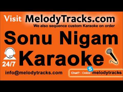 Dhalne lagi hai raat   Karaoke   Sonu Nigam   Bollywood Karaoke Mp3