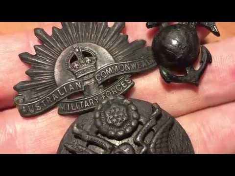 Detecting ww2 relics with the CTX 3030
