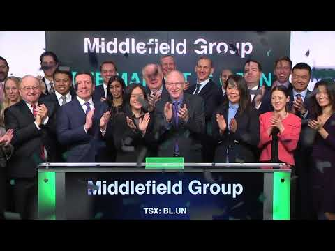 Middlefield Group opens Toronto Stock Exchange, April 11, 2018