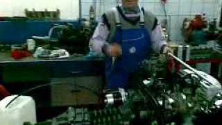 VW T2 Robak pali motor Ogórka XXX