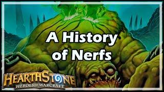 [Hearthstone] A History of Nerfs