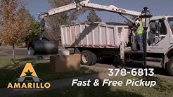 Amarillo's Bulky Waste Trash Pick-Up