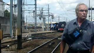la 141 R 840 et la 241 P 17 les locomotives à vapeur