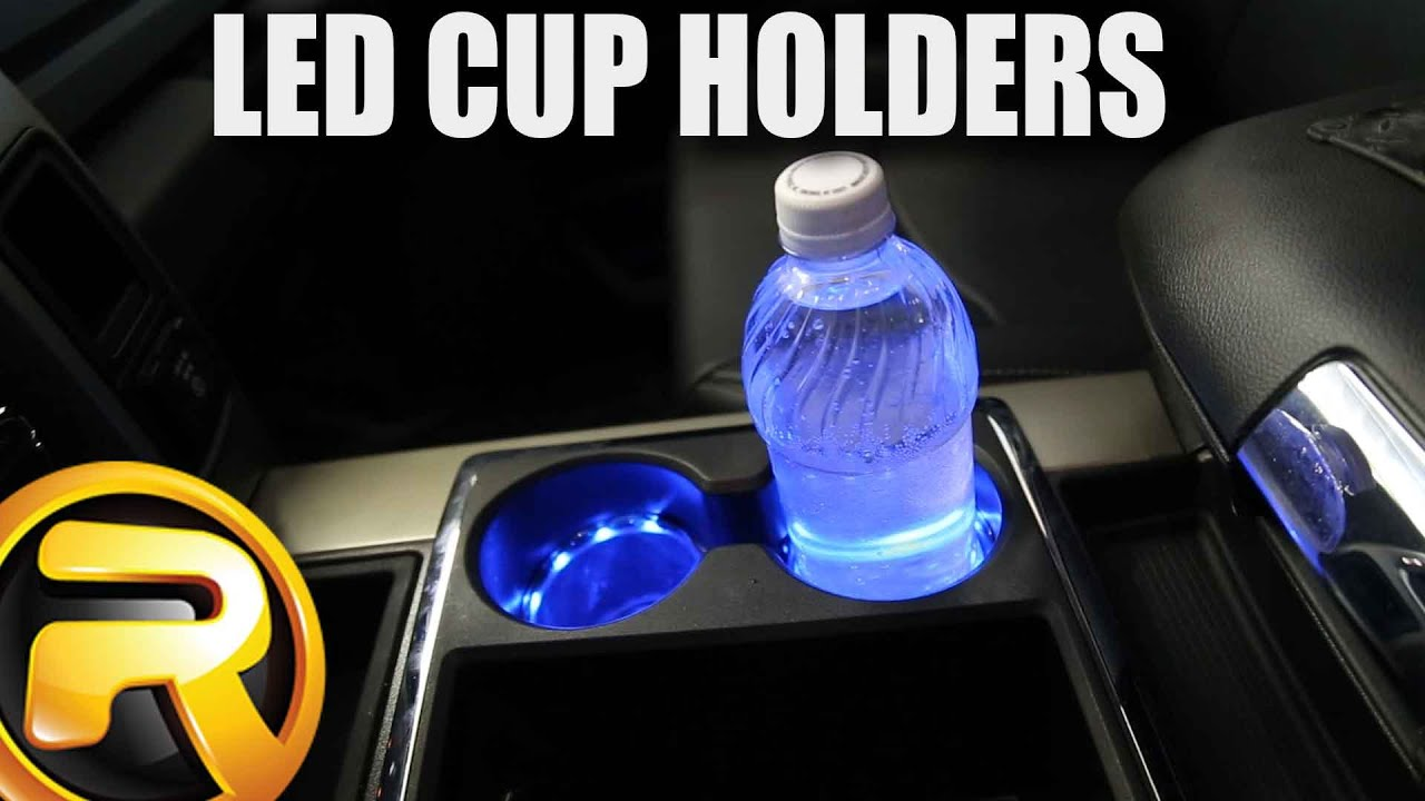 How To Install Plasmaglow Led Cup Holder Lights Youtube