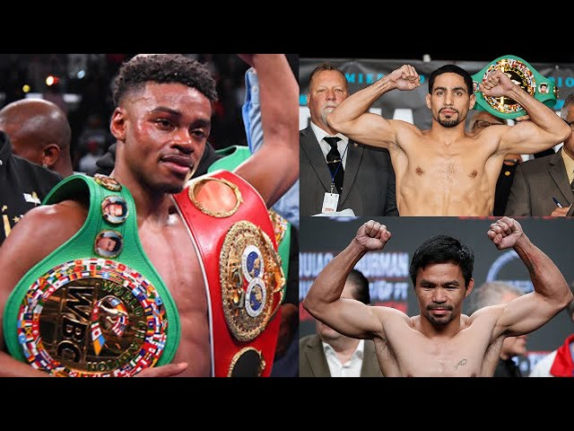 ERROL SPENCE, JR is BACK! MANNY PACQUIAO FIGHT HIM WBC President Mauricio SULAIMAN!!!