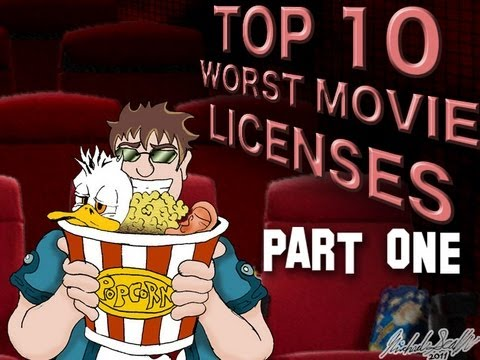 Top 10 Worst Movie Licenses - Wez and Larry&39;s Top Tens Part One