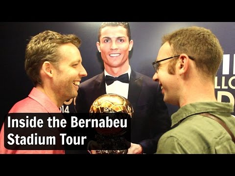 Inside the Real Madrid Santiago Bernabeu Stadium Tour