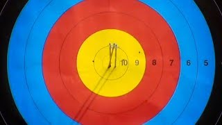 Precision archery at 70 metres