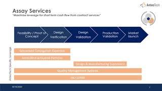 InvestorStream Webinar Series: AnteoTech Limited (ASX:ADO) Investor Webinar