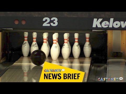 Bowling hard in Kelowna