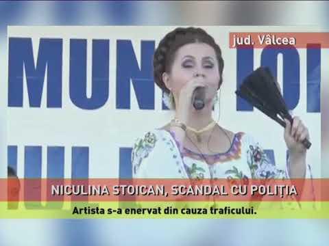 Niculina Stoian, scandal cu poliţia