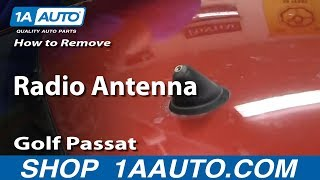 How to Replace Antenna Mast Assembly 1997-2011 Volkswagen Jetta, Golf, or Passat