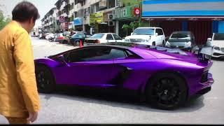 GACKT ランボルギーニ 紫.