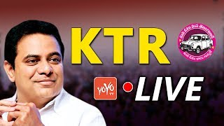 KTR  LIVE | KTR Participates in Handicapped Pensioners Thank Meet | Telangana | YOYO TV Channel