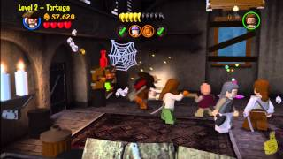 Lego Pirates of the Caribbean: Level 2 Tortuga - Story Walkthrough - HTG