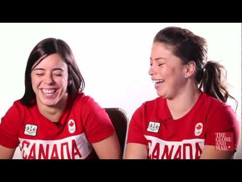 Olympic synchronized divers Roseline Filion and Meaghan Bonfeito describe their partnership