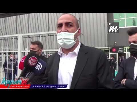 Kayserispor Basın Sözcüsü Mustafa Tokgöz: İnşallah ligde kalacağızk