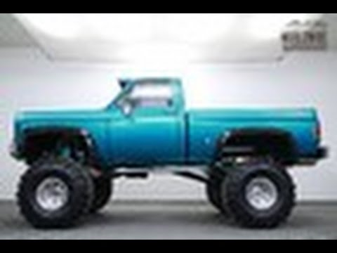 1977 Chevrolet 4x4 truck lifted for sale
