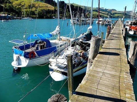 Sailing New Zealand's South Island Pt 3 of 8 -  Banks Peninsula to Port Chalmers, Dunedin