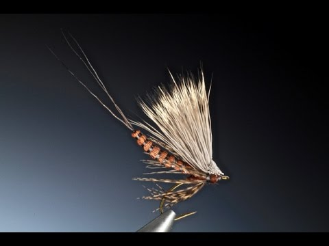 Tying a detached deer hair body mayfly with Barry Ord Clarke