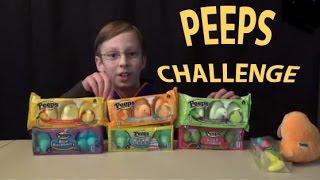 Peeps Challenge Video New Flavors!