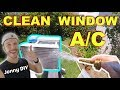 How To Clean Window AIR CONDITIONER Fast & Easy -Jonny DIY