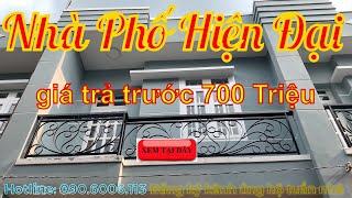 Bán Nhà Bình Chánh - Nhà Bán Huyện Bình Chánh trả góp 1 tỷ 450 triệu - Sổ Hồng Riêng