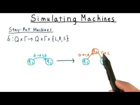 Simulating Machines - Georgia Tech - Computability, Complexity, Theory: Computability