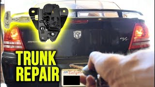 How To Replace Your Trunk Latch Actuator (Trunk Repair)
