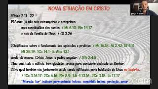Estudo Bíblico - Efésios 2.19-22 - 31/03/2021