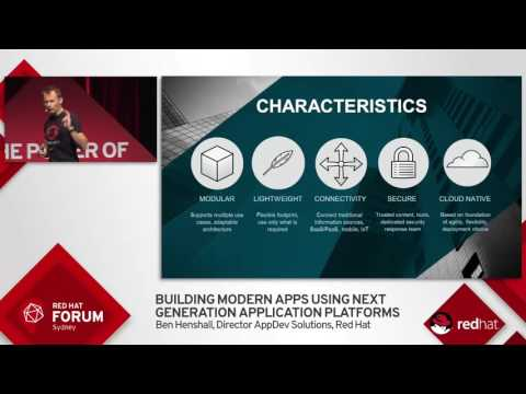 Highlights from Red Hat Forum Sydney 2016: Ben Henshall