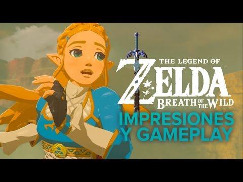 The Legend of Zelda: Breath of the Wild: los primeros 20 minutos