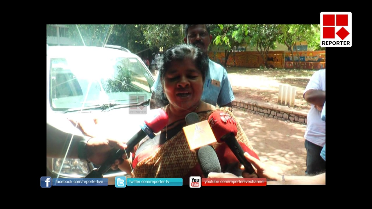 POLICE ACTION INPUTHUVYPE IS WRONG SAYS MINISTER J MERCYKUTTY AMMA