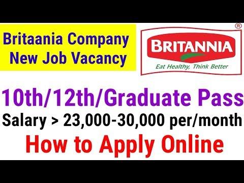 Britannia Job Vacancy 2018    Private job vacancy 2018