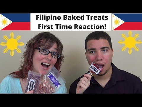 MOM & SON Trying Filipino Snacks/Treats for the FIRST TIME! (Flip Crate)