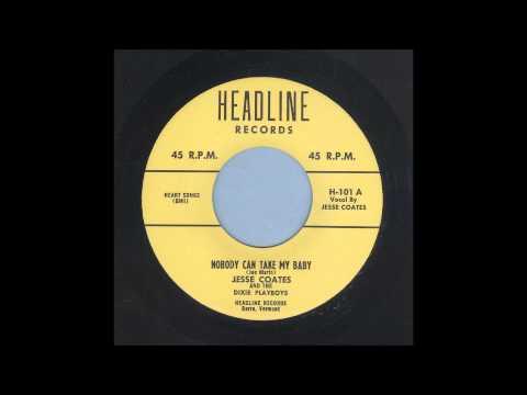 Jesse Coates - Nobody Can Take My Baby - Rockabilly 45