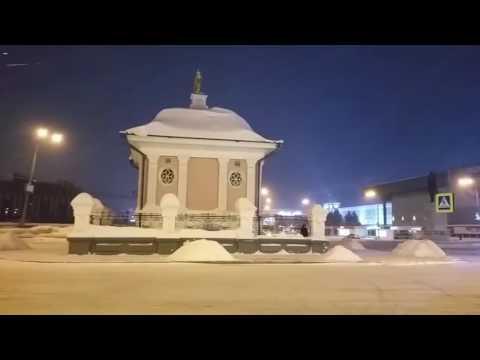 Зимняя сказка в Томске. Holiday in Tomsk Siberia