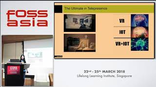 When VR meets Internet of things: Life beyond second life - Pooja Purswani - FOSSASIA 2018