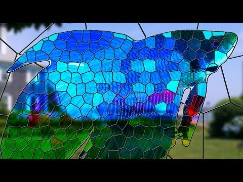 Photoshop Tutorial: How to Transform a Photo into a Stained Glass Window! thumbnail