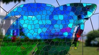 Photoshop: Transform a Photo into a Stained Glass WIndow!