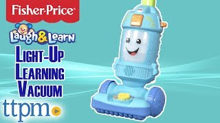 Laugh & Learn Light-Up Learning Vacuum from Fisher-Price